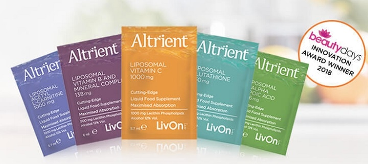 Altrient Product Range Sachets