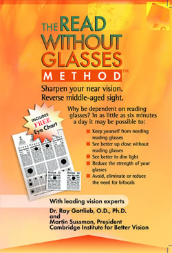 Sharpen your Eyesight without Reading Glasses