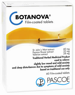 Botanova - New Herbal Product for Stress