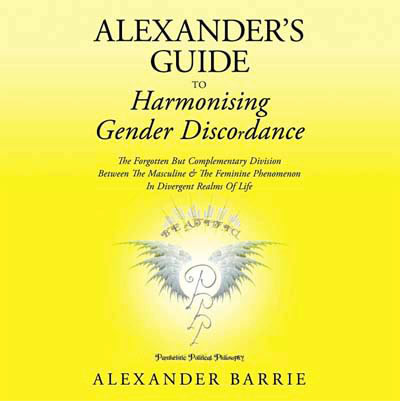 Alexander's Guide to Harmonising Gender Discordance  - book cover