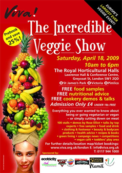 Massive Veggie Event in London