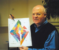 Dr Trevor Creed explaining the Etheric Diamond