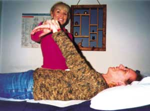 A patient having allergies corrected with Total Body Modification