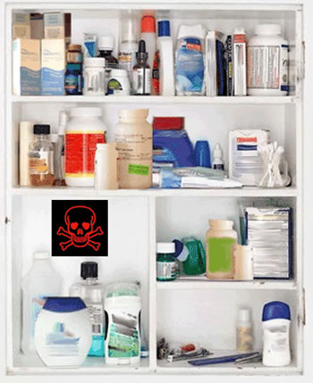 Carcinogens in skin care products