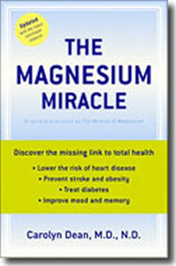 The Magnesium Miracle - book cover