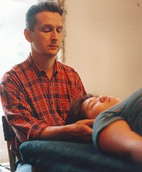 By detecting disturbances in the Craniosacral motion the threrapist is able to identify areas of restriction and trauma