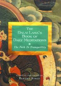 [Image: The Dalai Lama's Book of Daily Meditations - The Path To Tranquillity]