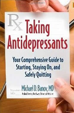 Taking Antidepressants book cover