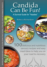 Candida Can Be Fun Front Cover.