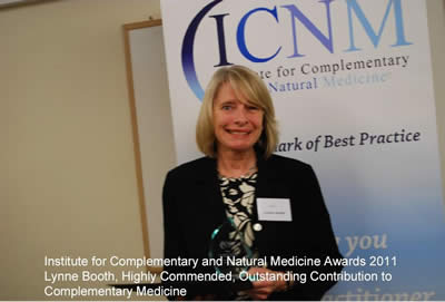 Lynne Booth ICNM Award