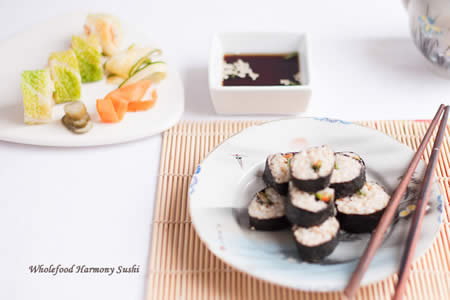 Wholefood Harmony Brown Rice Sush