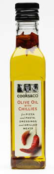 Olive Oil with Chillies 250m