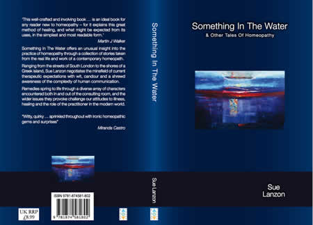 Something in the Water - book cover