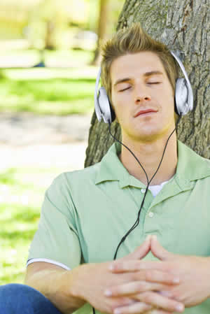 Many of us meditate on our iPods