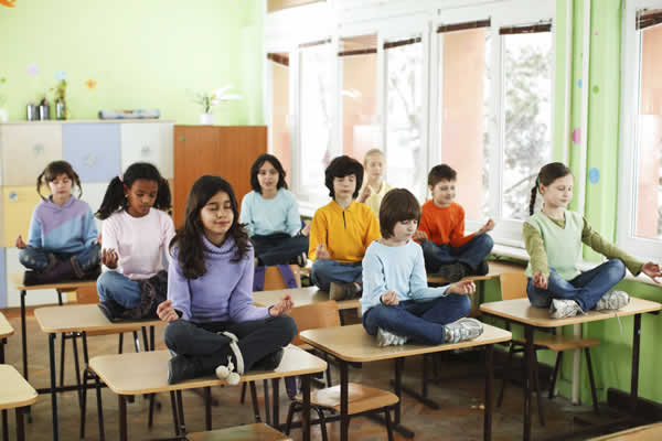 Meditation will become an accepted part of the school curriculum