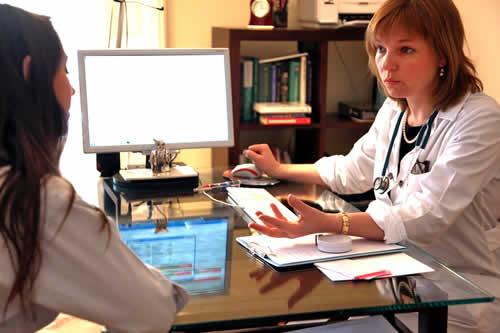 Irina with Patient