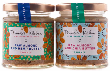 Primrose's Kitchen Launches Delicious Raw Nut Butters!
