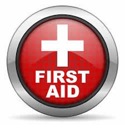 Red Cross First Aid logo