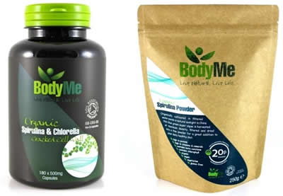 BodyMe Get Leaner with Spirulina