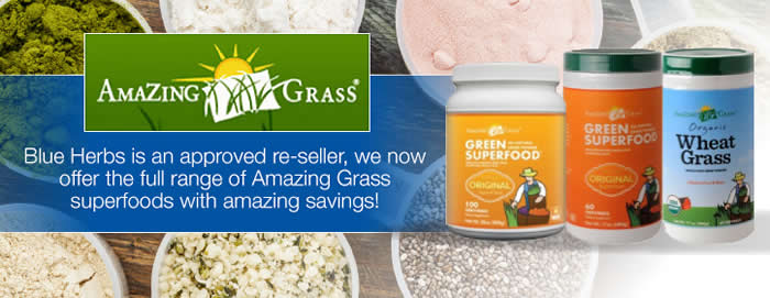Amazing Grass Superfood from Blue Herbs