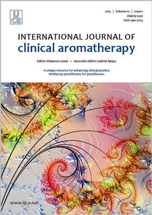 The International Journal of Clinical Aromatherapy