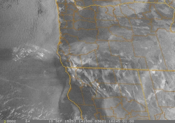 image of lithium haze with fine lines. Southern Oregon