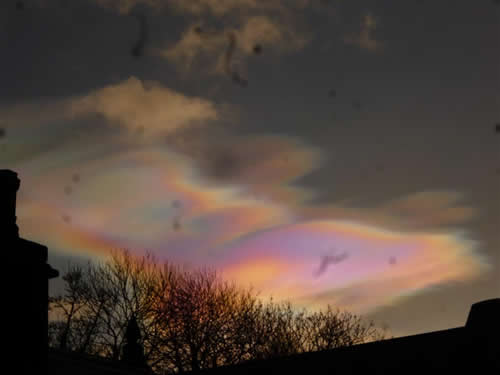 Nacreos Clouds over Hawick