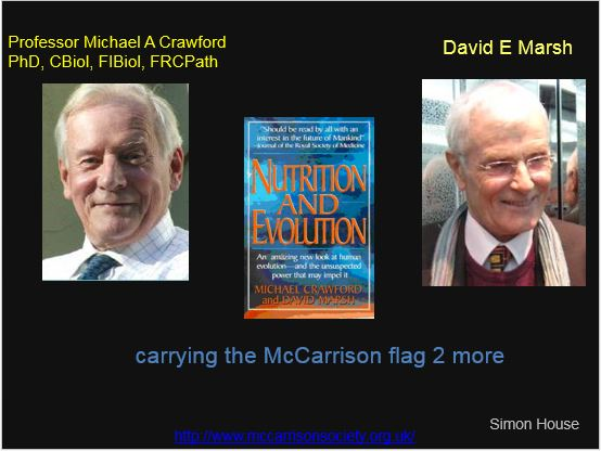 Nutrition and Evolution Crawford and Marsh