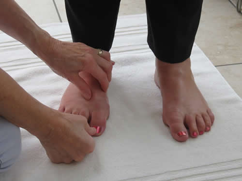 Vertical Foot Reflexology