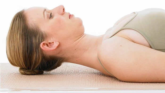 Pilates Chin Tucks Neck Rolls