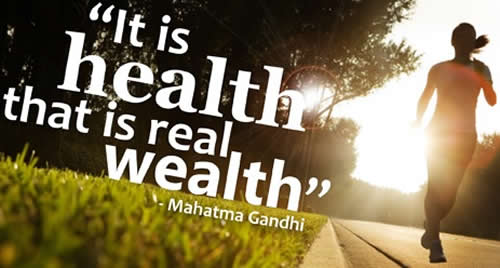 Quotation from Mahatma Gandhi