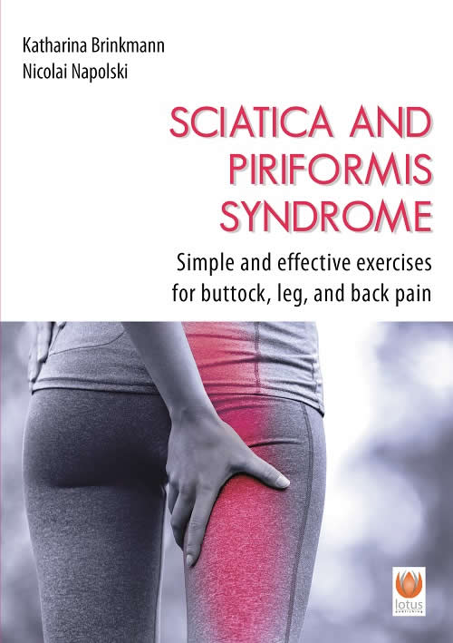 Cover Sciatica Pain and Piriformis Syndrome