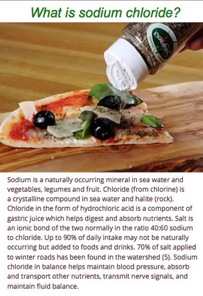 What is sodium chloride