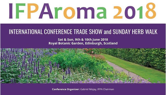 IFPAroma 2018 Conference Banner