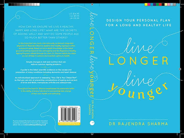 book cover Live Longer Live Younger
