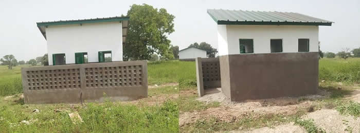 Imam Jaiteh Foundation Toilets in the Gambia