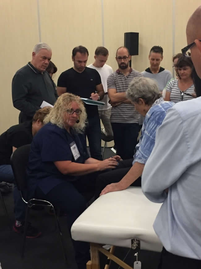 Carole Demonstrating NSRT Knee Points