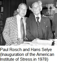 Paul Rosch with Hans Selye