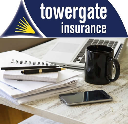 Working from home + Towergate Logo