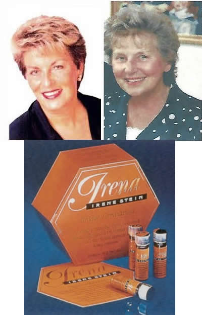 Irene Stein aged 70 years, her mother Sophie Hollander, aged 83 + Irena Products