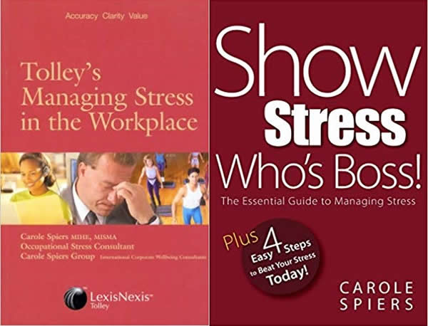 Covers Managing Stress + Show Stress Whos Boss