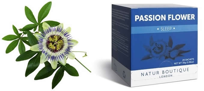 Passion Flower + Tea Product
