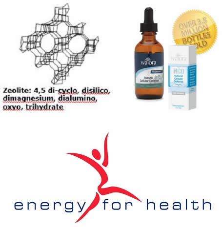 NCD Activated Zeolite - Powerful Detox Product from Energy for Health