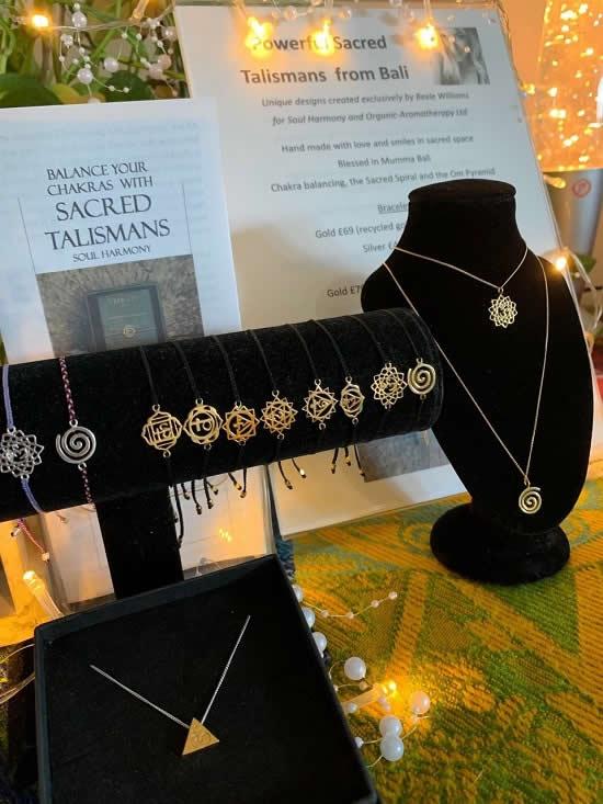 Bali Mandala Bracelets and Necklaces from Organic Aromatherapy