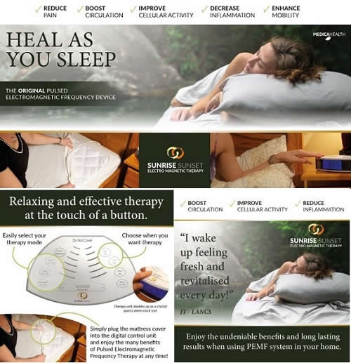 Heal as you Sleep + Relaxing Therapy