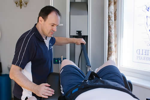 Sheffield Physiotherapy IDD Therapy Accu SPINA