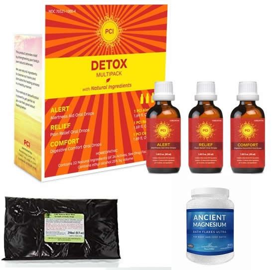 Detox Multipack + Moor Mud + Magnesium Flakes