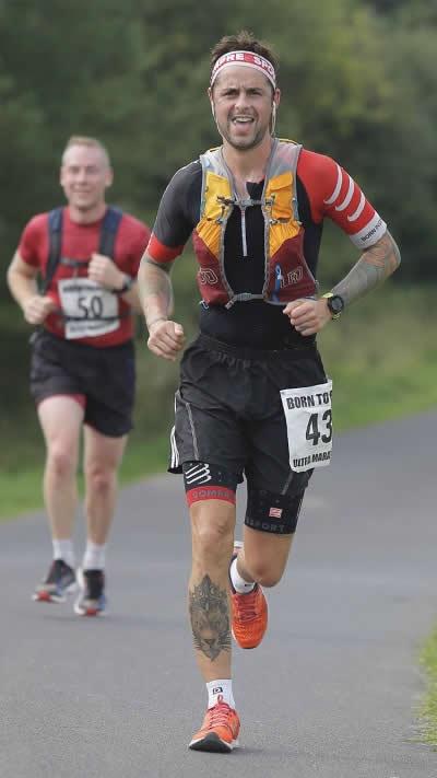 Gary Howells with Runner