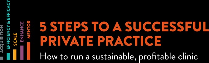 Banner 5 Steps to a Successful Private Practice