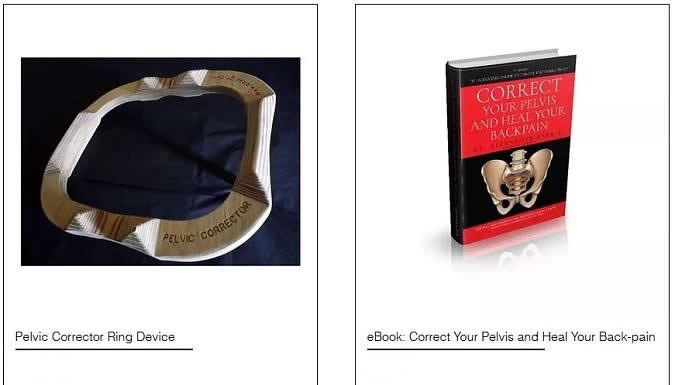 Pelvic Ring Corrector Device + eBook Correct Your Pelvis